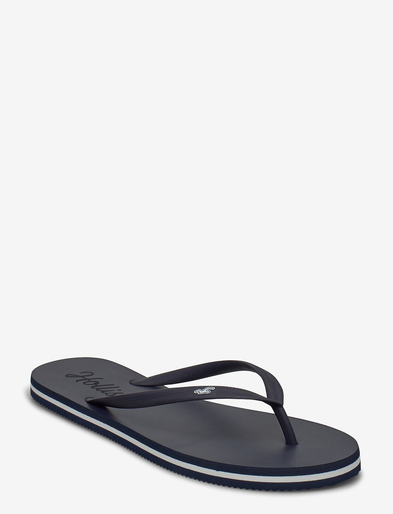 Hollister - Rubber Flip - teenslippers - navy dd - 0