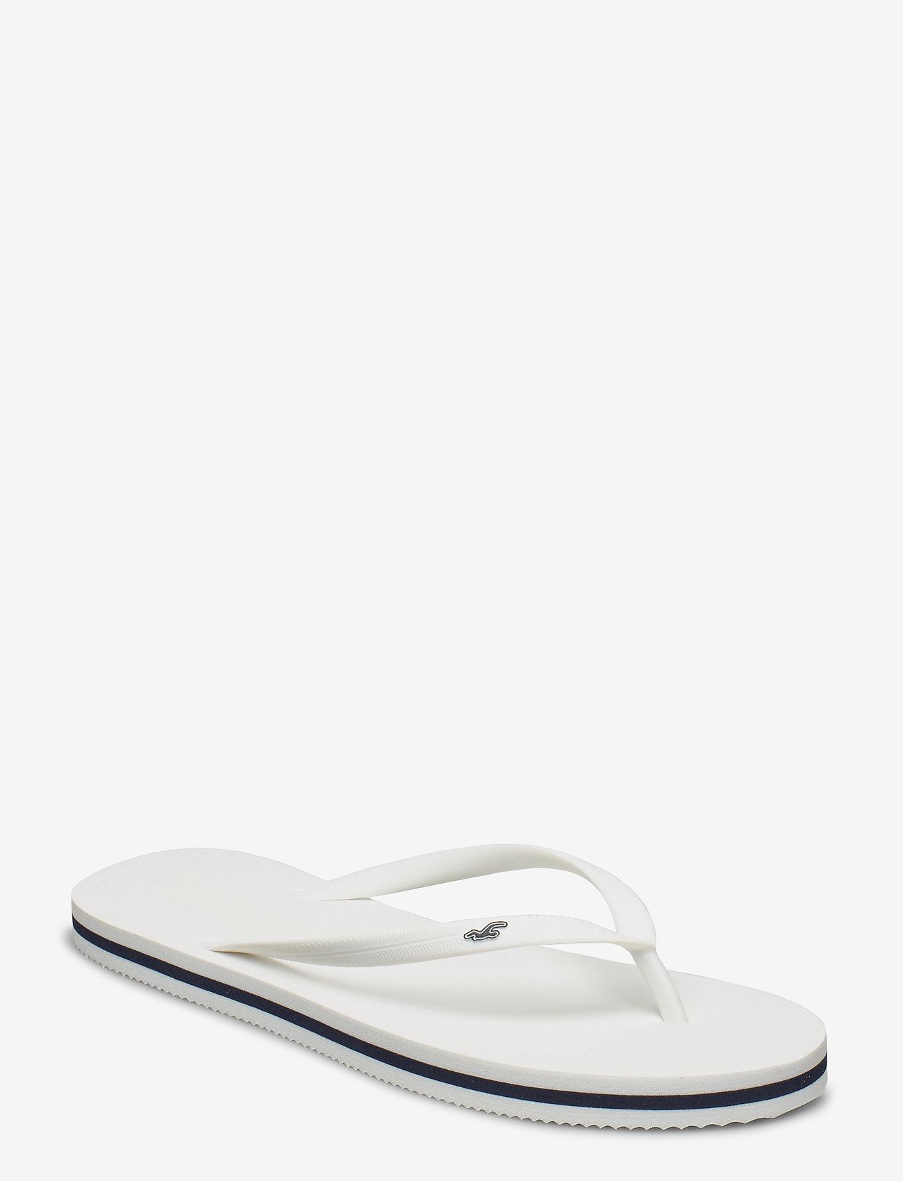 Hollister - Rubber Flip - teenslippers - white - 0