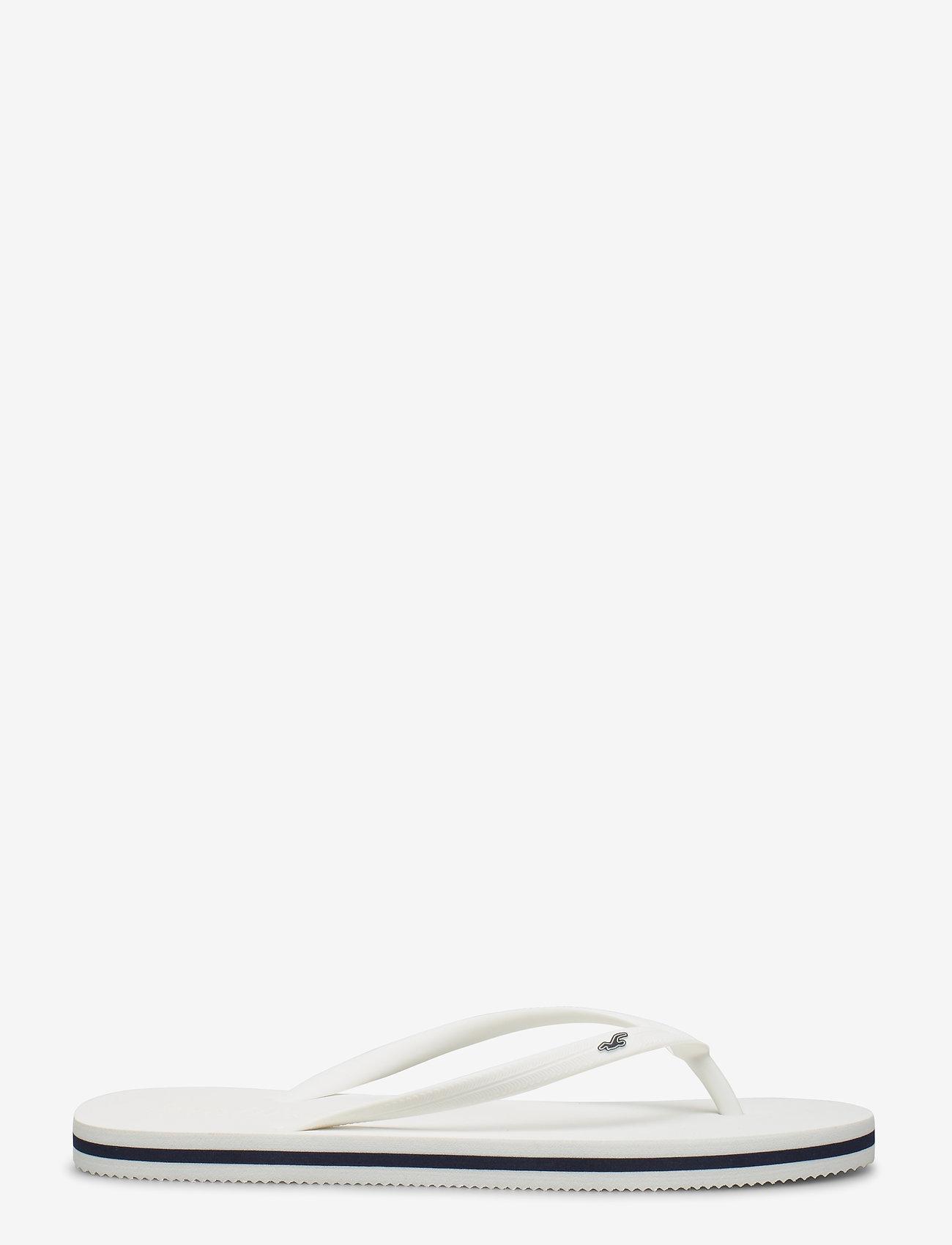 Hollister - Rubber Flip - teenslippers - white - 1