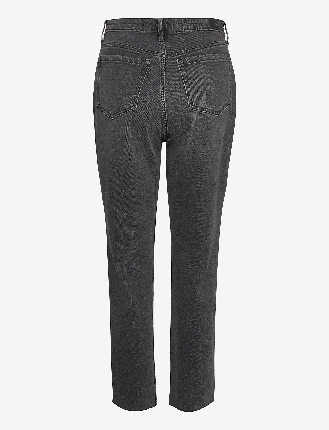 Hollister - UHR MOM - straight jeans - washed black - 1