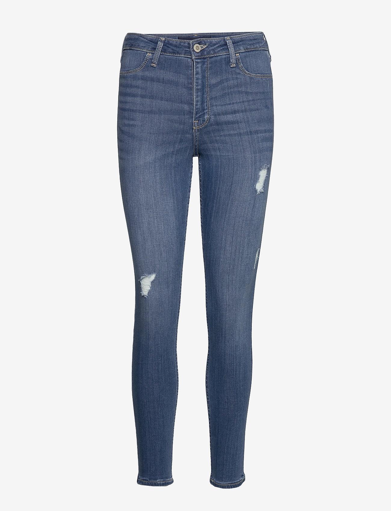 Hollister - Jeans - skinny jeans - medium destroy - 0