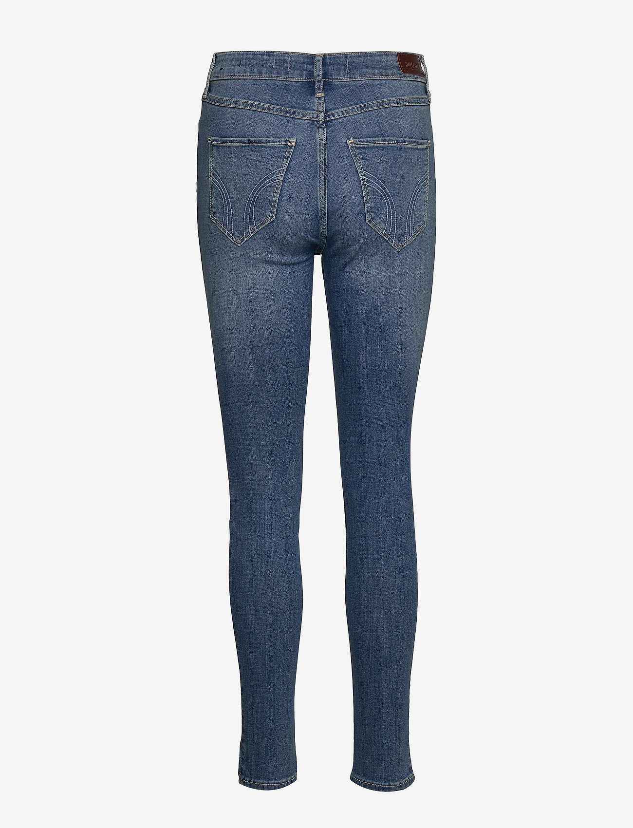 Hollister High Rise Super Skinny - Jeans LIGHT DESTROY