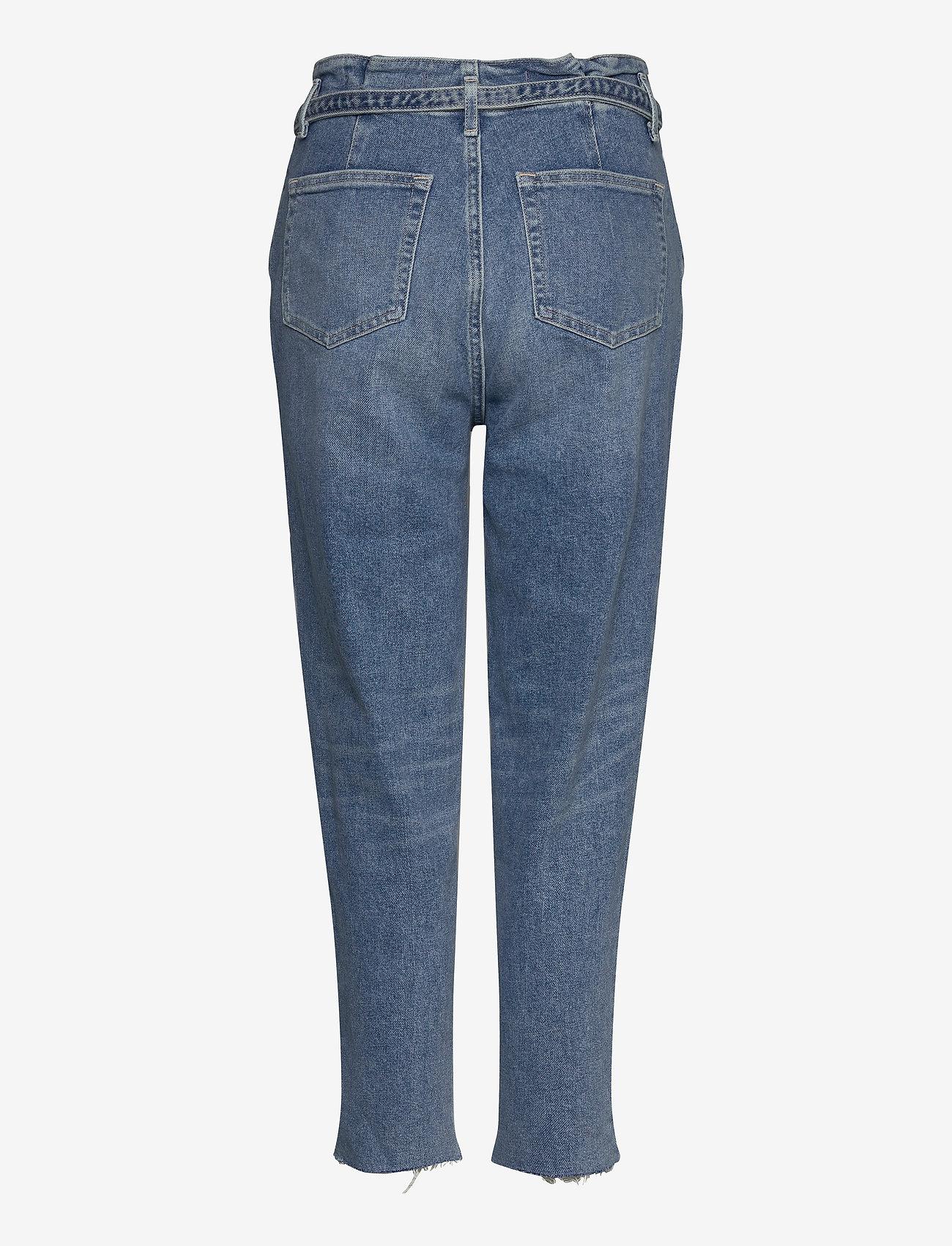 Mom Jeans (Light Destroy) - Hollister TJpYAm