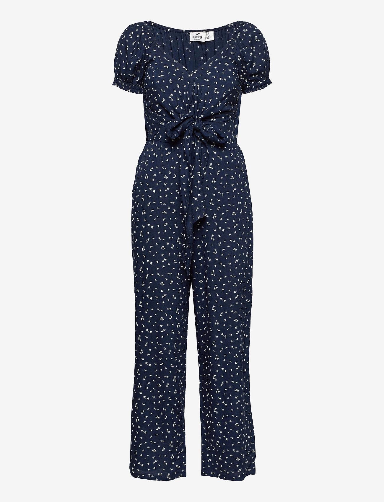 Hollister - HCo. GIRLS DRESSES - jumpsuits - navy floral - 0