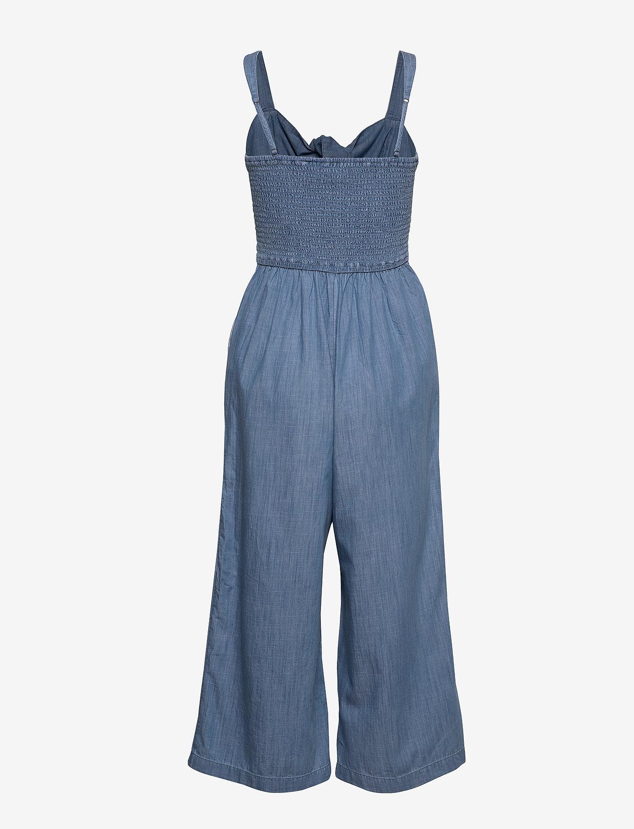 Hollister - Double Tie Jumpsuit - jumpsuits - med blue dd - 1