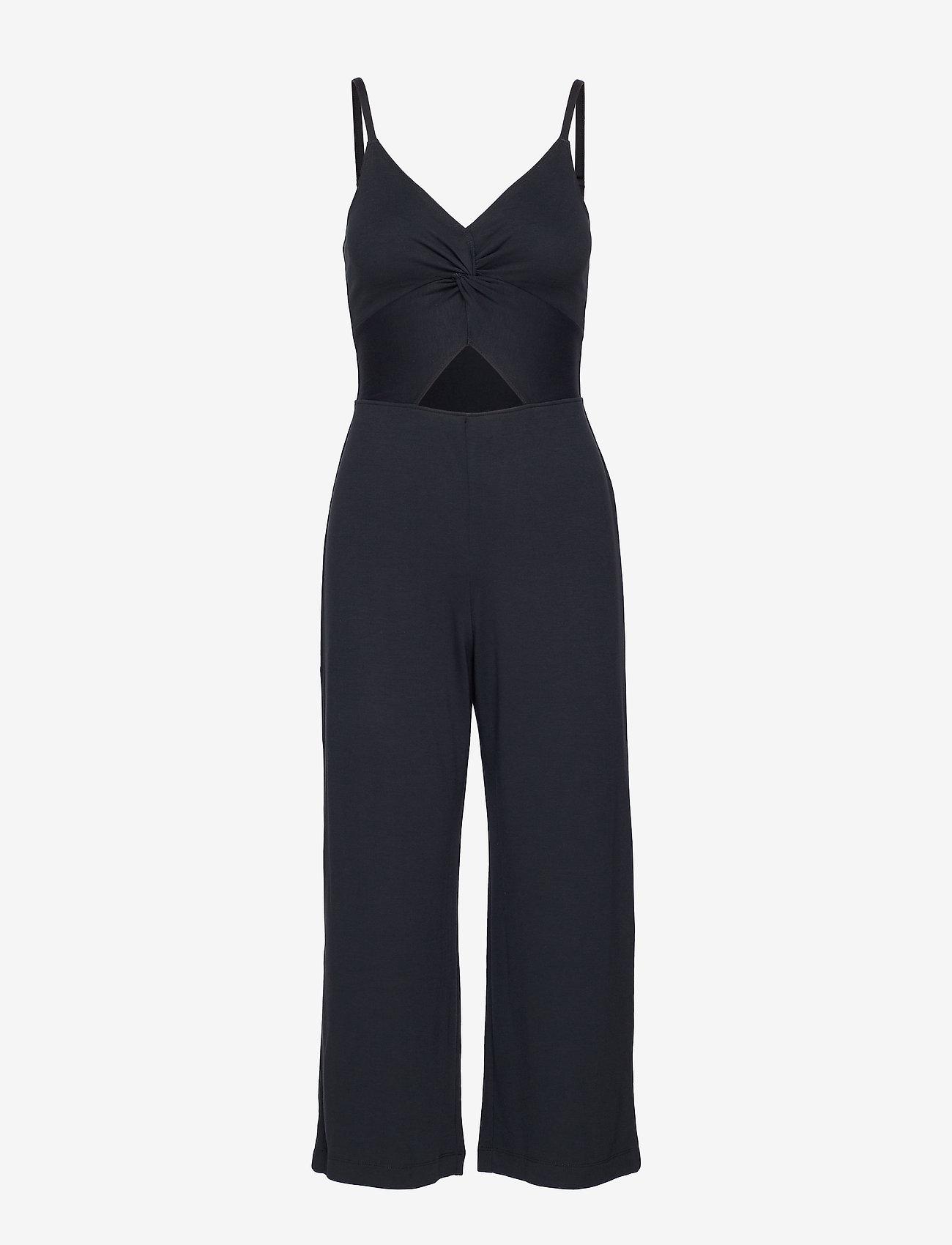 Hollister - Twist Jumpsuit - jumpsuits - black dd - 0