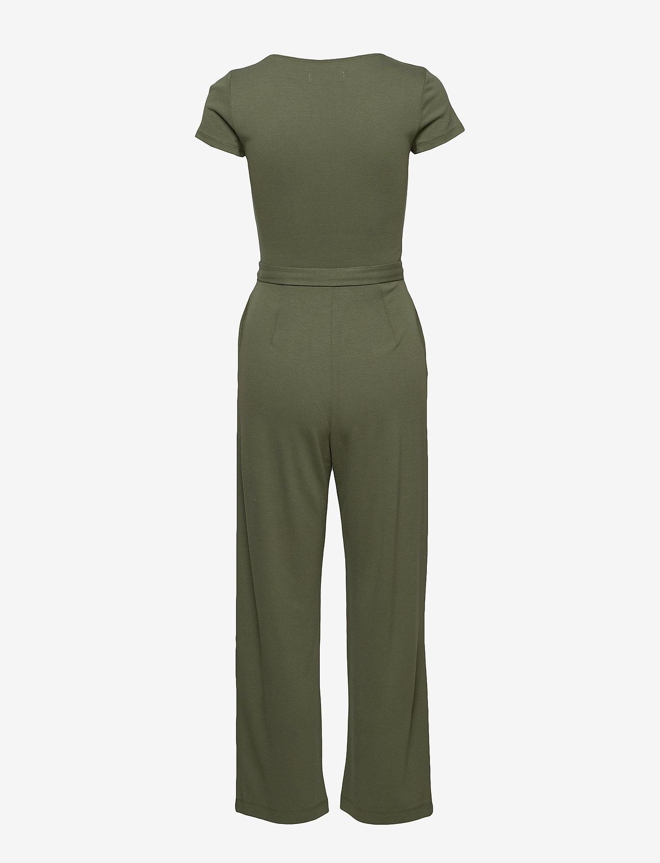 Hollister - Jumpsuit - buksedragter - olive dd - 1
