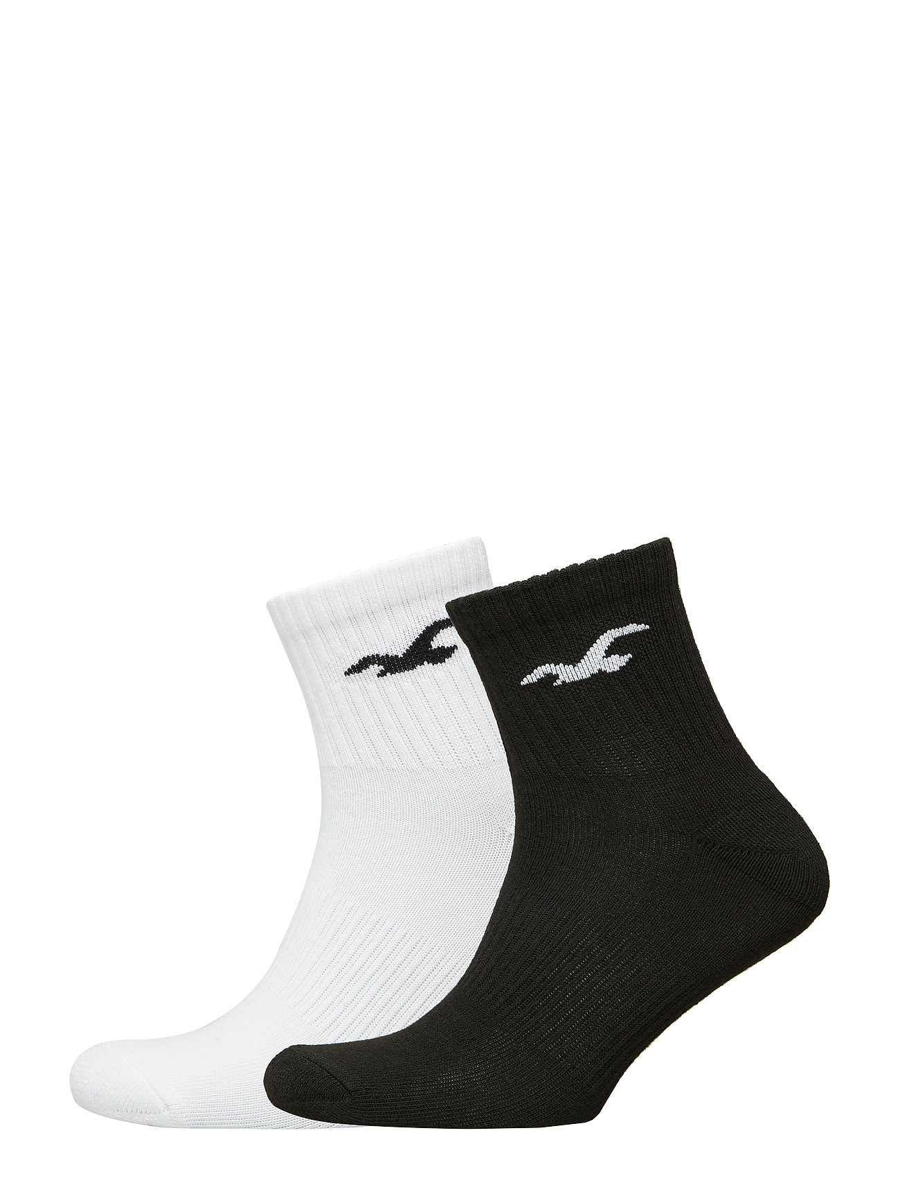 Hollister Crew Socks - BLACK DD