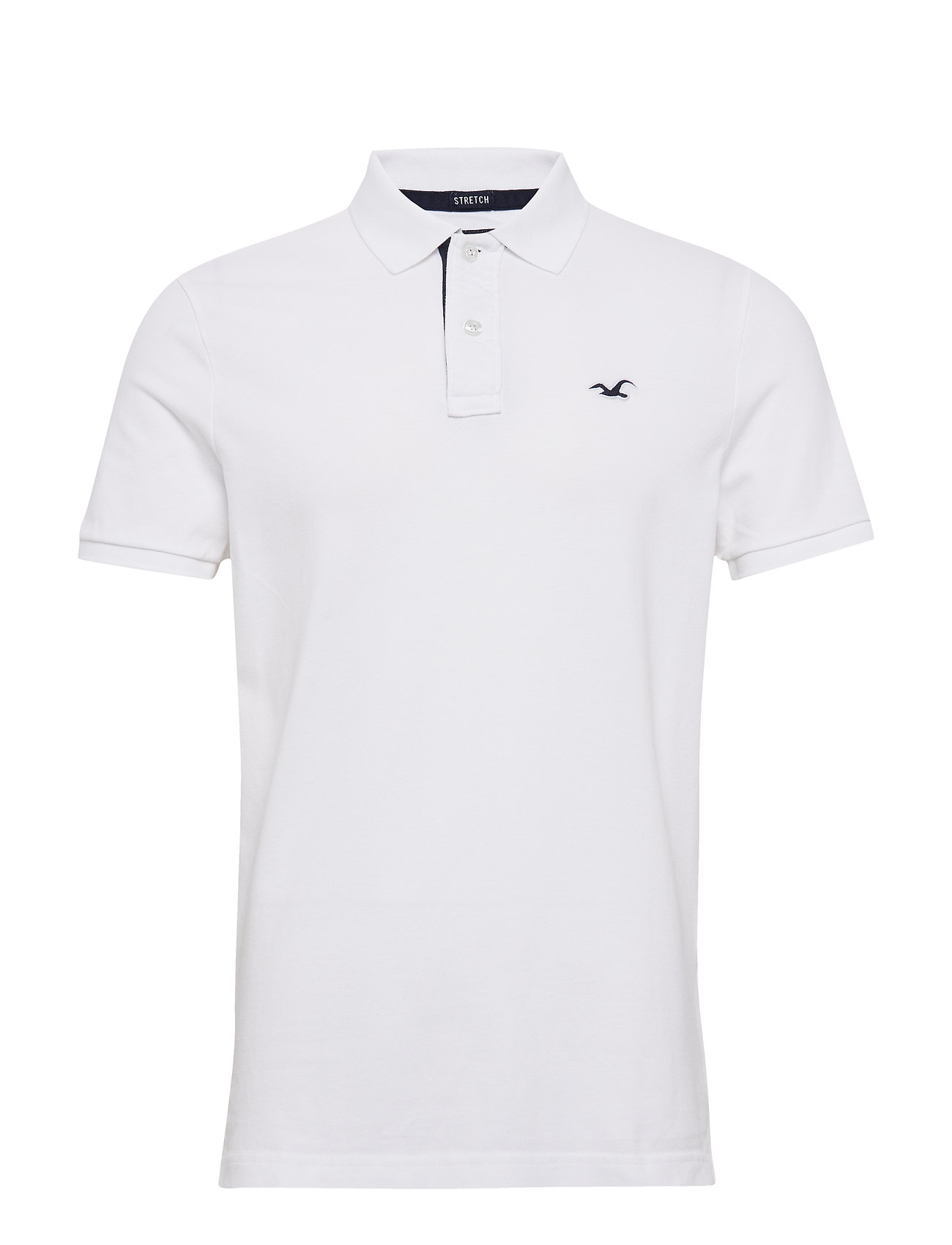 Hollister Heritage Polo Solid - WHITE
