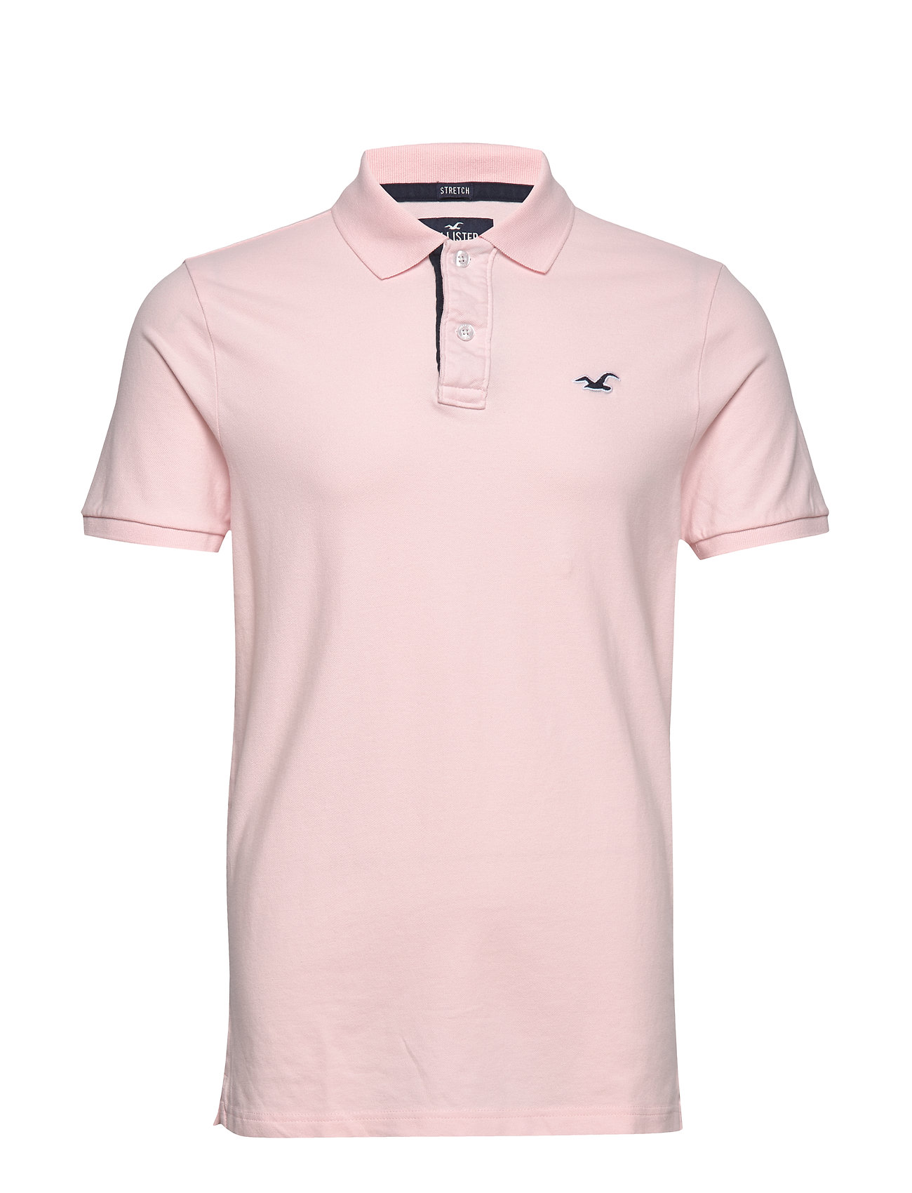 Hollister Heritage Polo Pink - LIGHT PINK DD