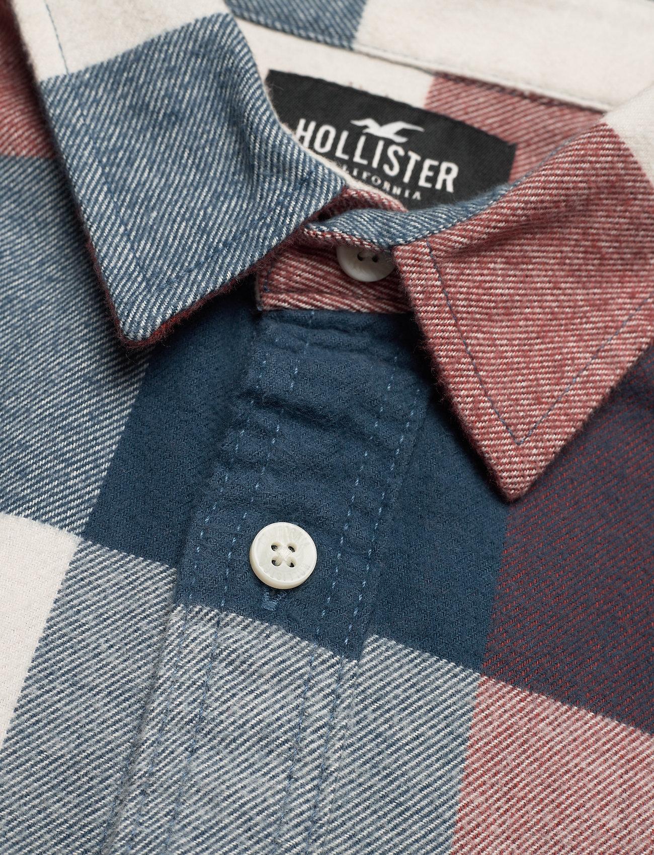 Hollister HCo. GUYS WOVENS - Skjorter NAVY PATTERN - Menn Klær