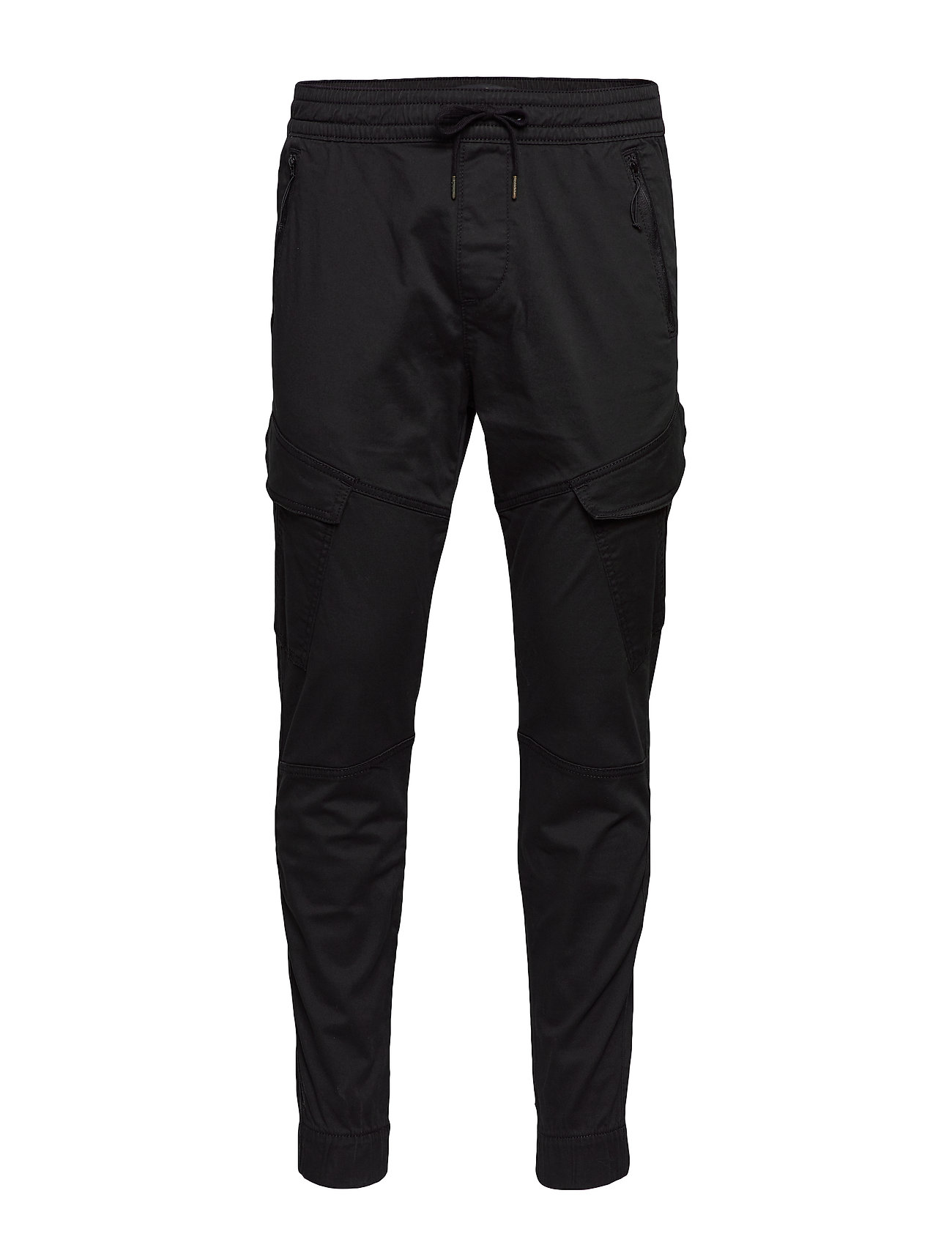 Image of Jogger Cargo Trousers Cargo Pants Sort Hollister (3285600447)