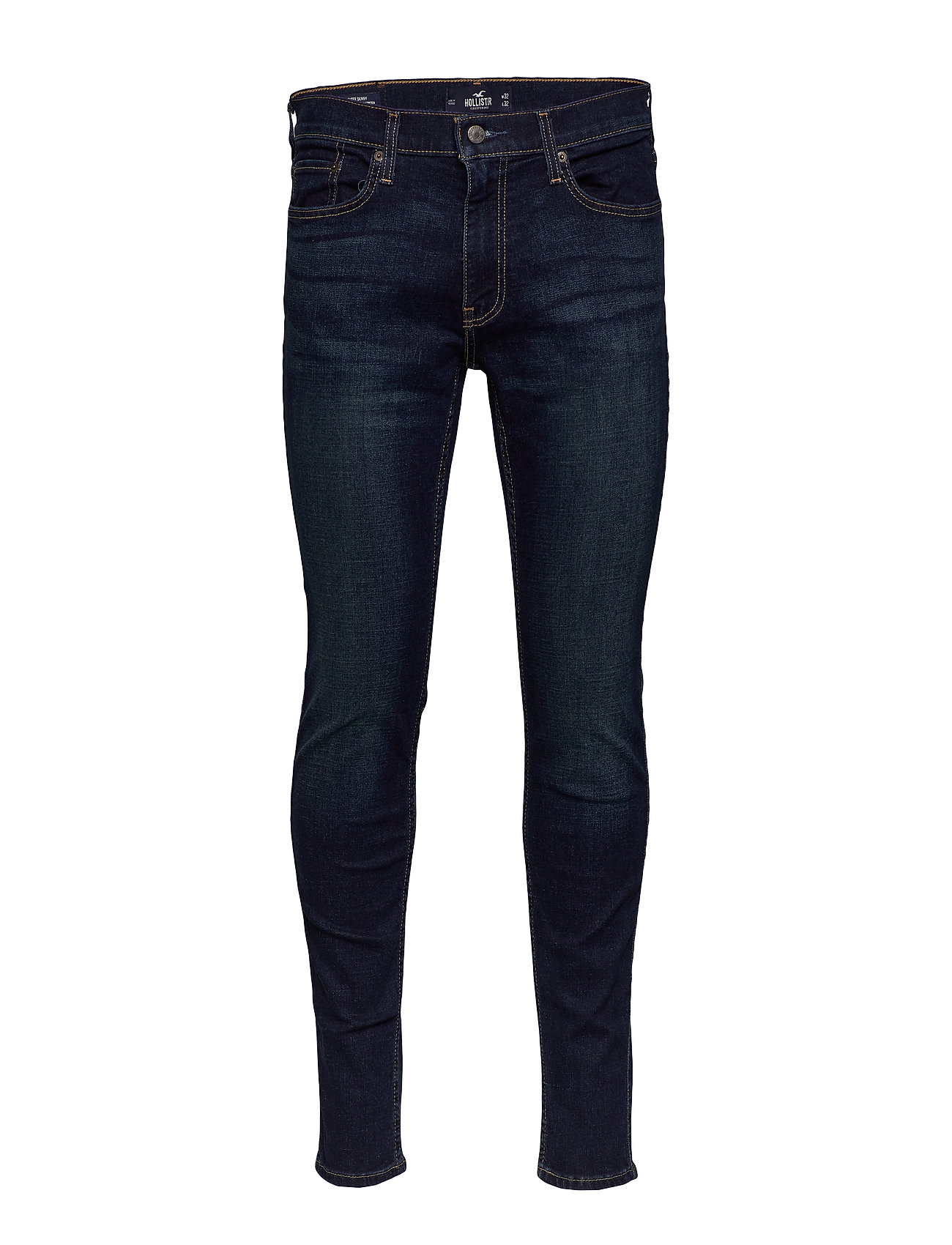 Hollister Advanced Stretch Super Skinny Jeans - DARK
