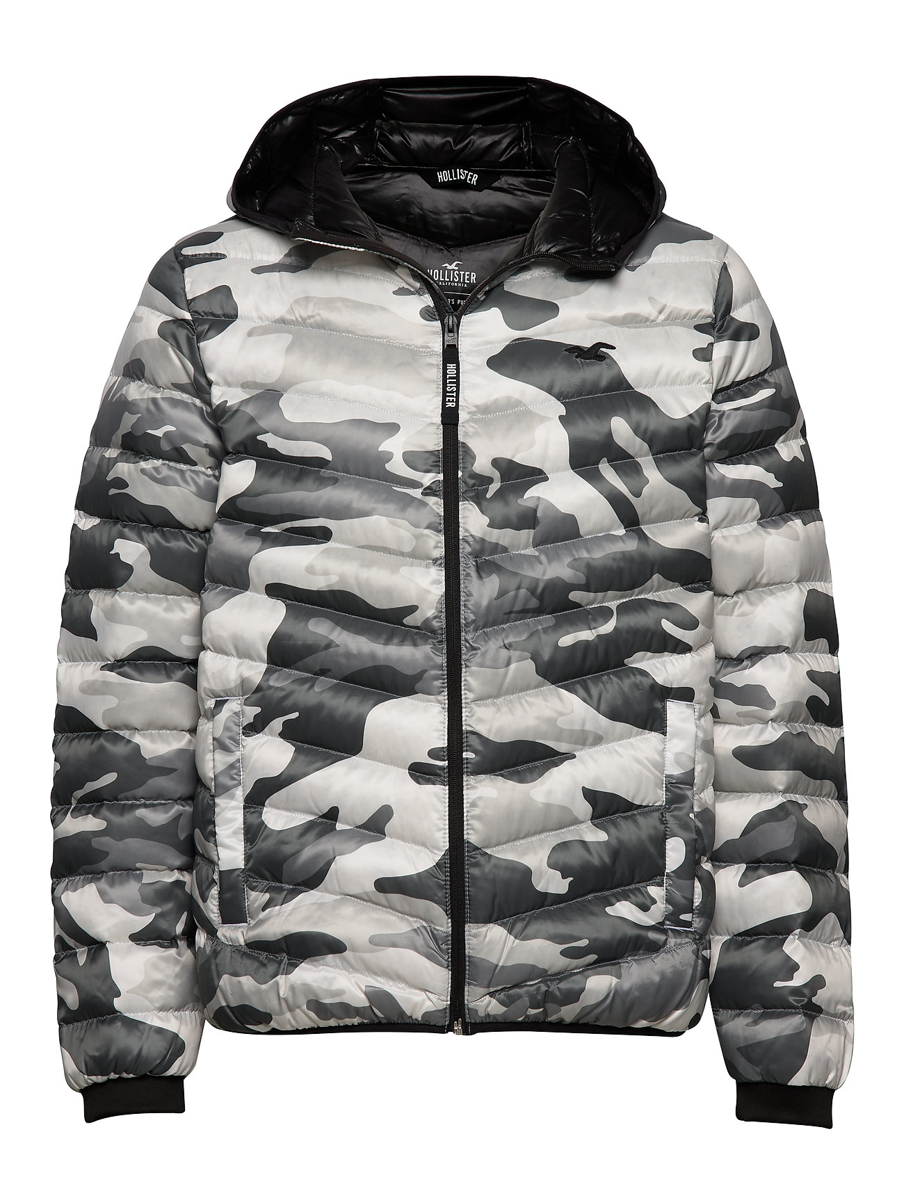Hollister Down Mw Puffer - WHITE PATTERN