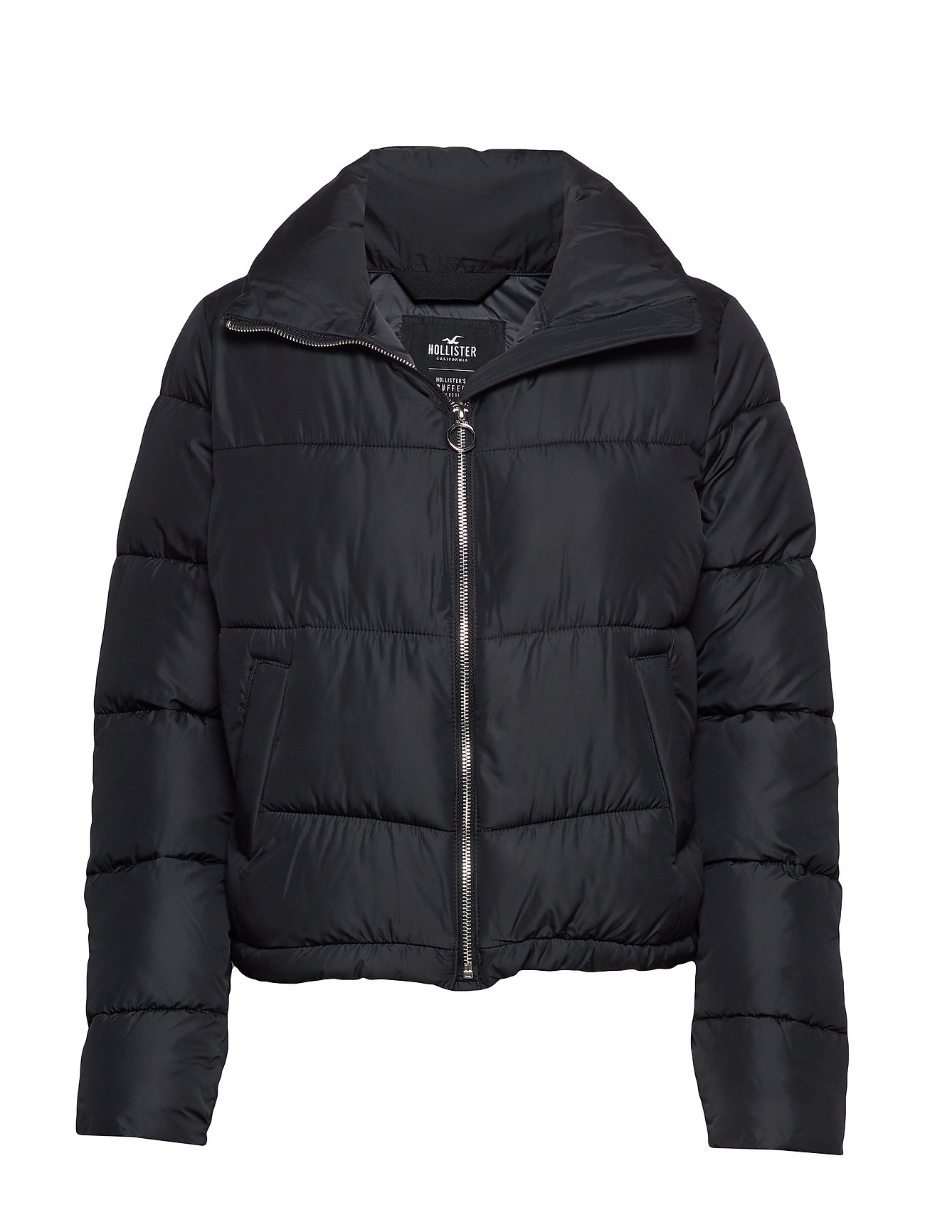 Hollister Fashion Puffer Jacket - BLACK DD
