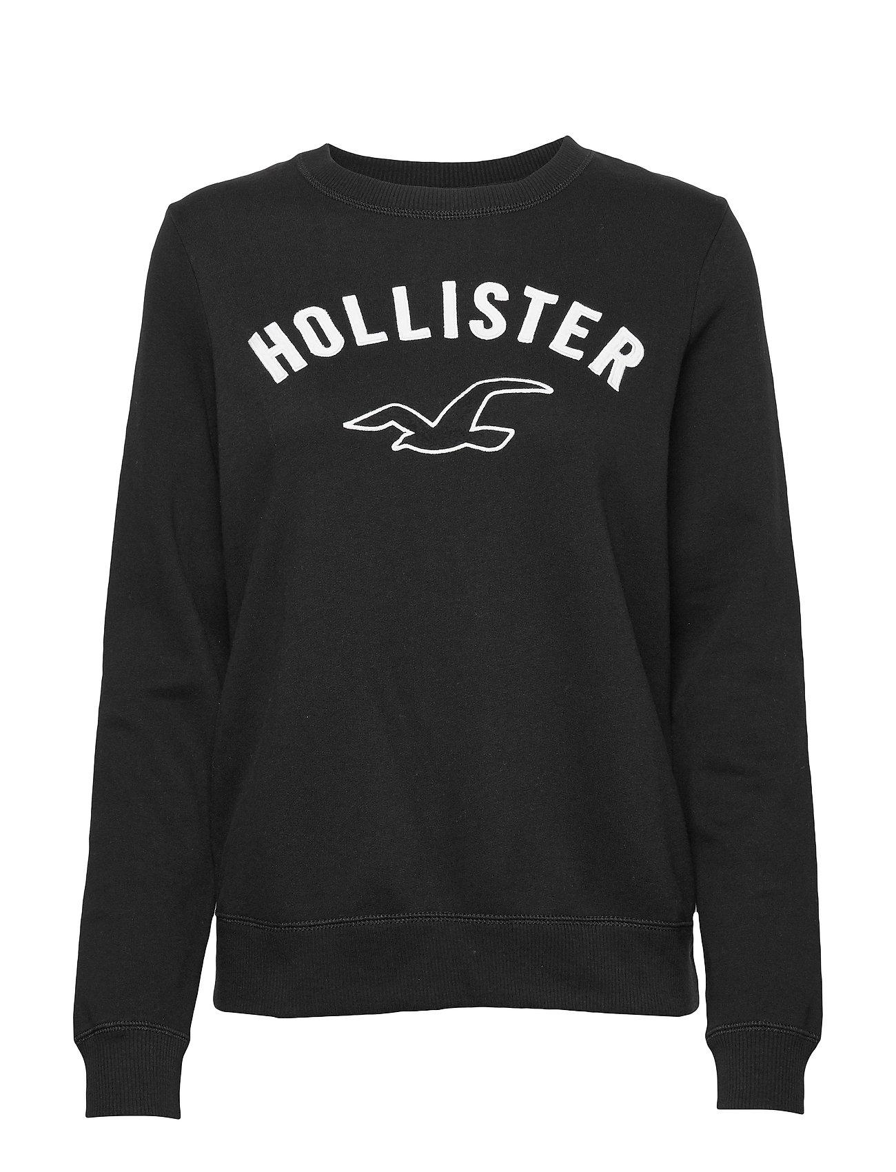 Hollister Timeless Crew - BLACK DD