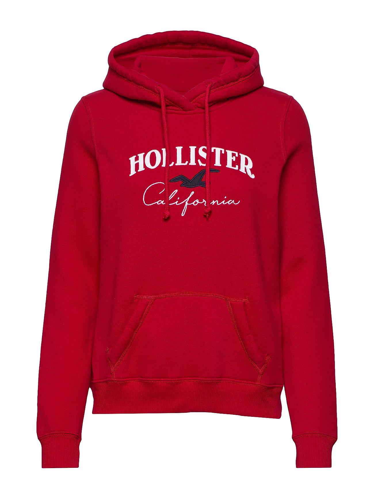 Hollister Logo Po Statement - RED DD