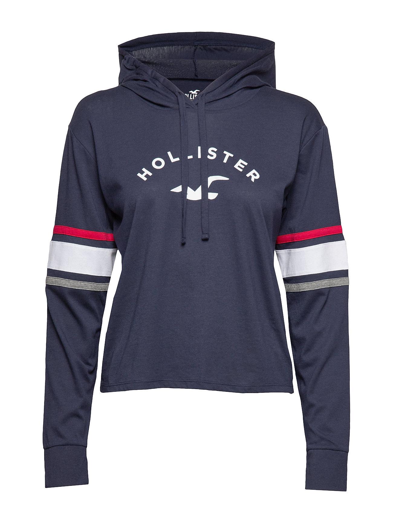 Hollister Hoodie - NAVY DD