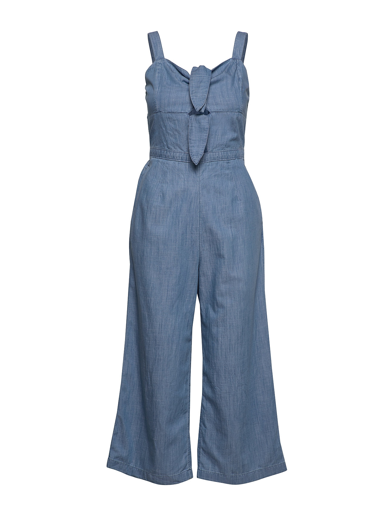 Hollister Double Tie Jumpsuit - MED BLUE DD