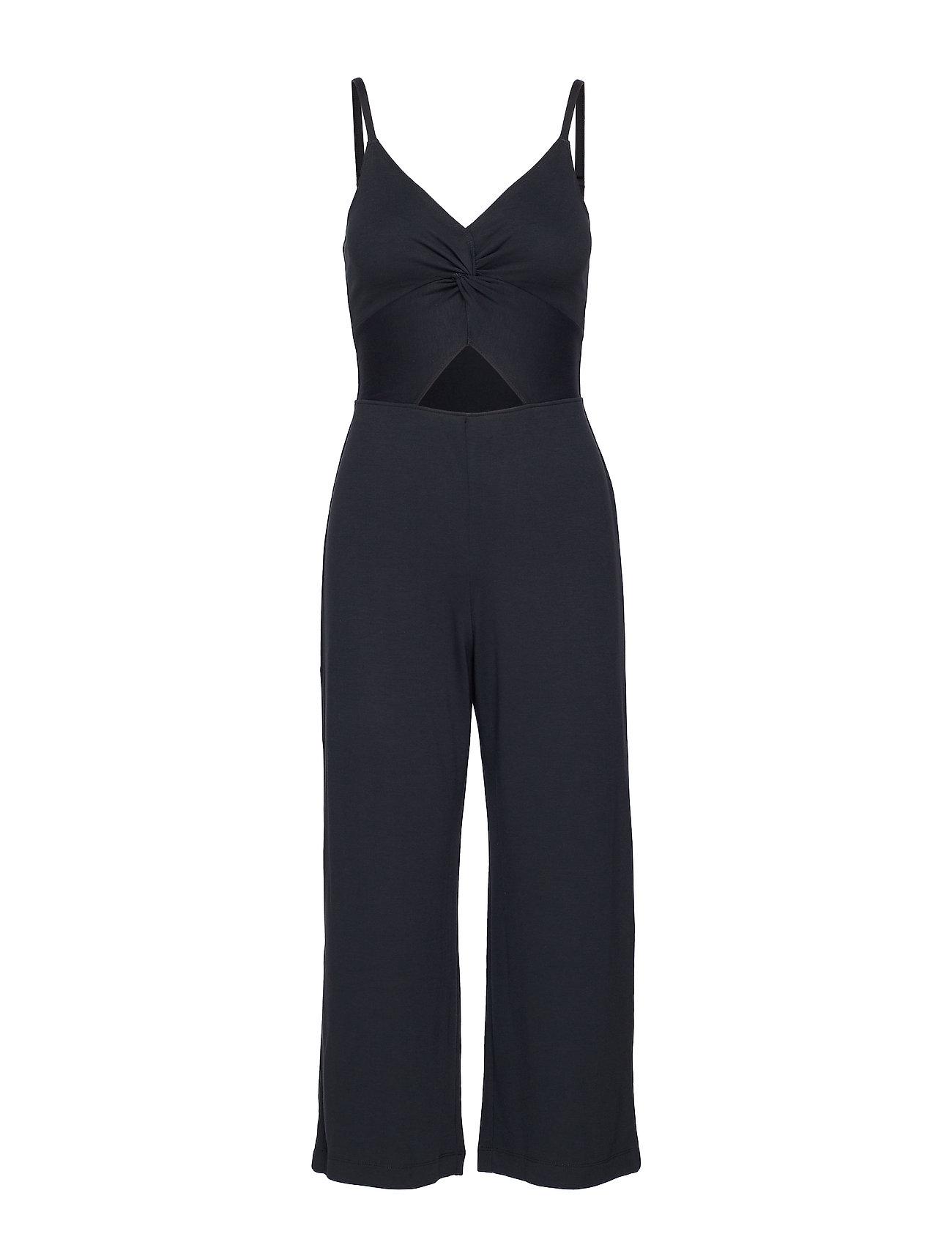 Hollister Twist Jumpsuit - BLACK DD