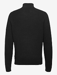 Hollister - HCo. GUYS SWEATERS - half zip - black - 1