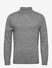 Hollister - HCo. GUYS SWEATERS - tricots basiques - dark grey sd/texture - 0