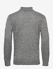 Hollister - HCo. GUYS SWEATERS - tricots basiques - dark grey sd/texture - 1