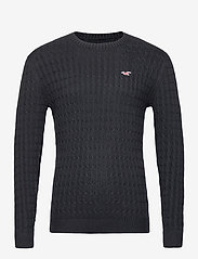 Hollister - HCo. GUYS SWEATERS - tricots basiques - black dd - 0
