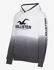 Hollister - Sport Print Logo - hoodies - white pattern - 2