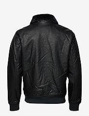 Hollister - Jacket - lederjacken - black dd - 1