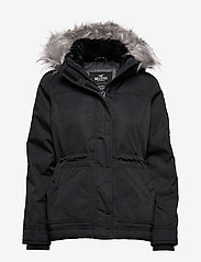 Hollister - Weather True Anorak - parki - black dd - 0