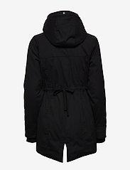 Hollister - Fur Lined Parka - parki - black dd - 5