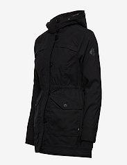 Hollister - Fur Lined Parka - parki - black dd - 6