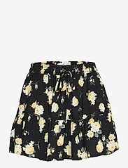 Hollister - HCo. GIRLS SHORTS - shorts casual - black floral - 0