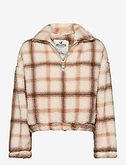 Hollister - HCo. GIRLS SWEATSHIRTS - fleece jassen - plaid - 0