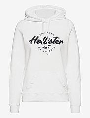 Hollister - HCo. GIRLS SWEATSHIRTS - hættetrøjer - white - 0
