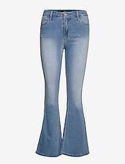 Hollister - HCo. GIRLS JEANS - flared jeans - light clean indigo - 0
