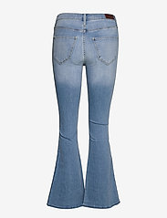 Hollister - HCo. GIRLS JEANS - flared jeans - light clean indigo - 1