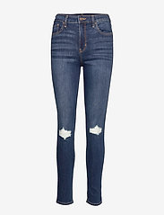 Hollister - High Rise Super Skinny - skinny jeans - dark destroy - 0