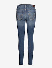 Hollister - Medium Rise Super Skinny - skinny jeans - medium destroy - 1