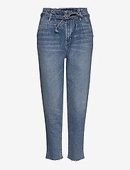 Hollister - Mom Jeans - mom jeans - light destroy - 0