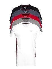V-neck T-shirt - WHITE