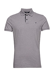 Slim Polo - LIGHT GREY SD/TEXTURE