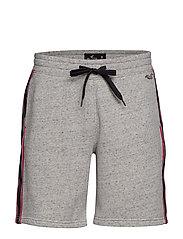 Classic Fleece Shorts - MED GREY SD/TEXTURE