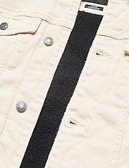 Hollister - HCo. GUYS OUTERWEAR - spijkerjassen - cream - 4