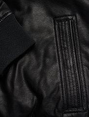 Hollister - Jacket - lederjacken - black dd - 3