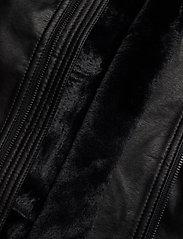 Hollister - Jacket - lederjacken - black dd - 4