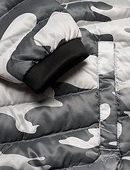 Hollister - Down Mw Puffer - kurtki puchowe - white pattern - 4