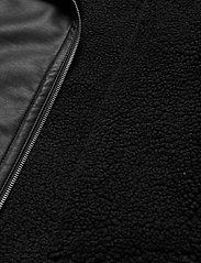 Hollister - LEATHER BIKER - skinnjackor - black - 5