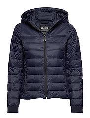 Lightweight Puffer Jacket - NAVY DD